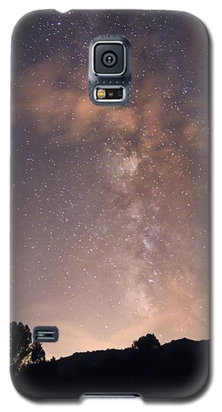 Clouds And Milky Way Galaxy S5 Case