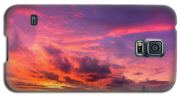 Clouds At Sunset Galaxy S5 Case