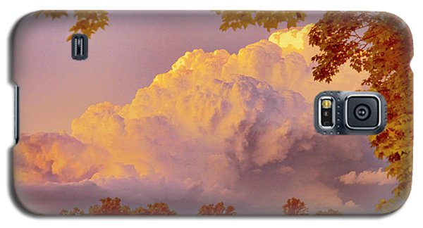 Clouds At Sunset, Southeastern Pennsylvania Galaxy S5 Case