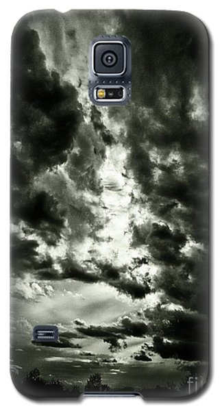 Galaxy S5 Case featuring the photograph Clouds by Gary Bridger