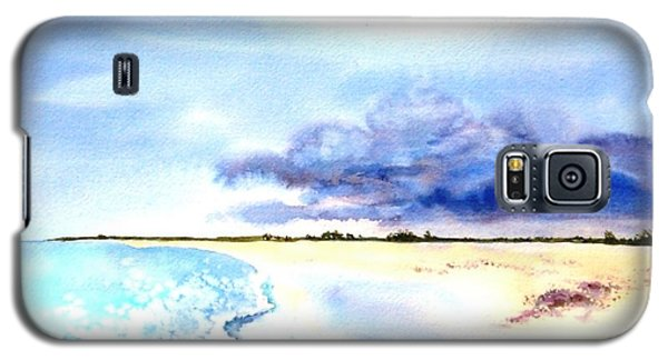 Clouds Gathering Over Anegada Galaxy S5 Case