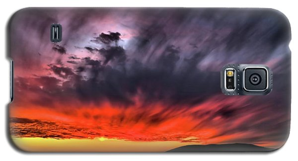 Galaxy S5 Case featuring the photograph Clouds In Motion Before The Storm by Vivian Krug Cotton