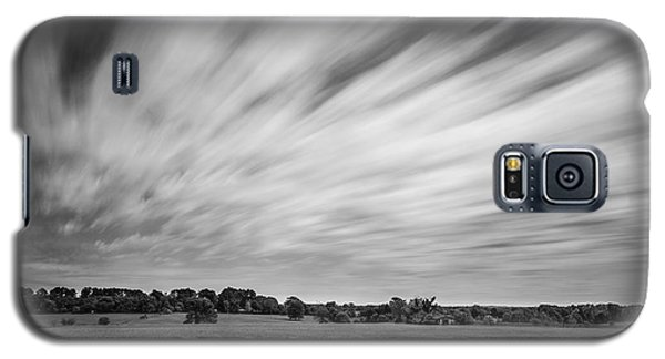 Clouds Moving Over East Texas Field Galaxy S5 Case