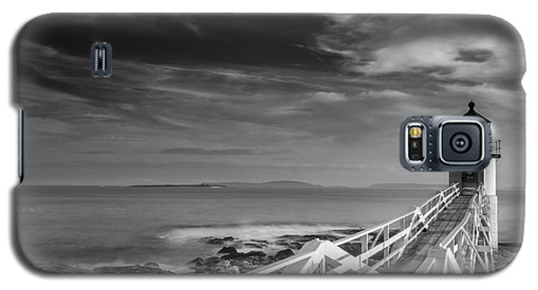 Galaxy S5 Case featuring the photograph Clouds Over Marshall Point Lighthouse In Maine by Ranjay Mitra