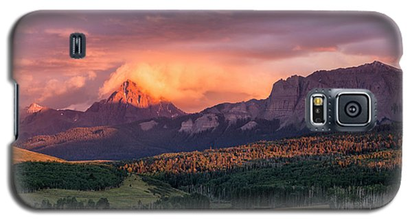 Clouds Over Sneffels At Sunset Galaxy S5 Case
