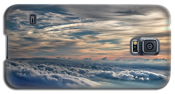 Galaxy S5 Case featuring the photograph Clouds Over The Smoky's by Douglas Stucky