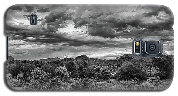 Clouds Over The Superstitions Galaxy S5 Case by Monte Stevens