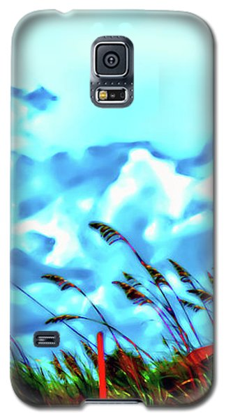 Clouds Over Vilano Beach Galaxy S5 Case