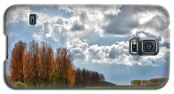 Clouds Over Voorne Galaxy S5 Case by Frans Blok