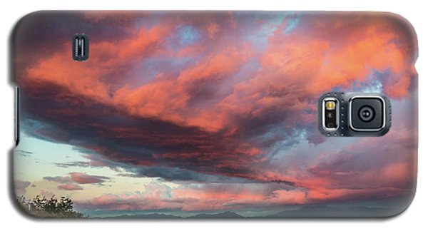 Clouds Over Warner Springs Galaxy S5 Case