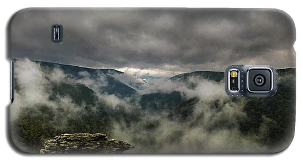 Clouds Rising At Lindy Point Galaxy S5 Case