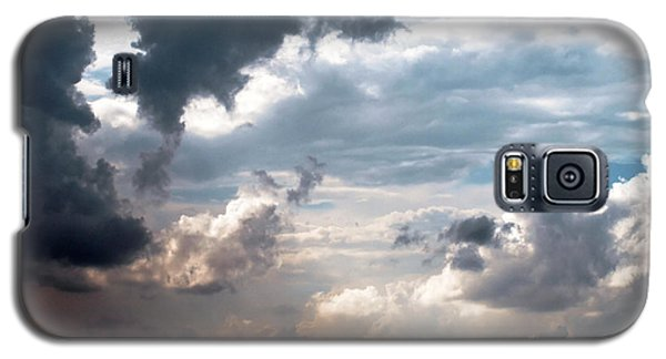 Galaxy S5 Case featuring the photograph Cloudscape ... Nine by Tom Druin