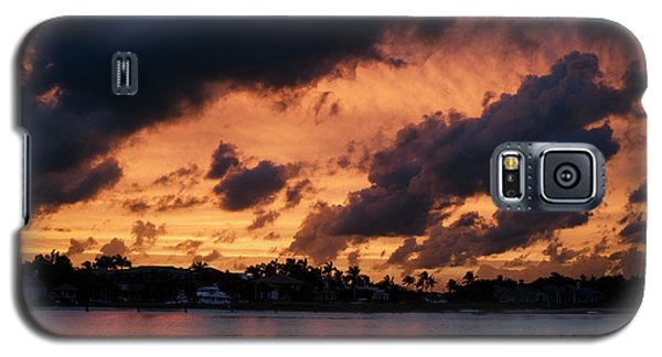 Galaxy S5 Case featuring the photograph Cloudscape by Laura Fasulo