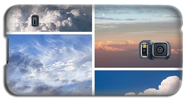 Galaxy S5 Case featuring the photograph Cloudscapes Collage by Jenny Rainbow