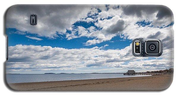 Cloudy Beach Day Galaxy S5 Case
