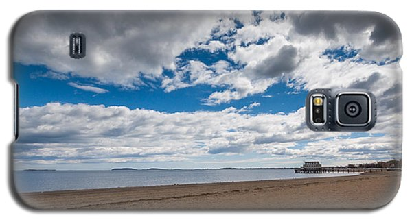 Cloudy Beach Day Galaxy S5 Case