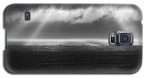 Cloudy Day At The Sae Galaxy S5 Case by Gunnar Orn Arnason