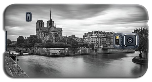 Cloudy Day On The Seine Galaxy S5 Case