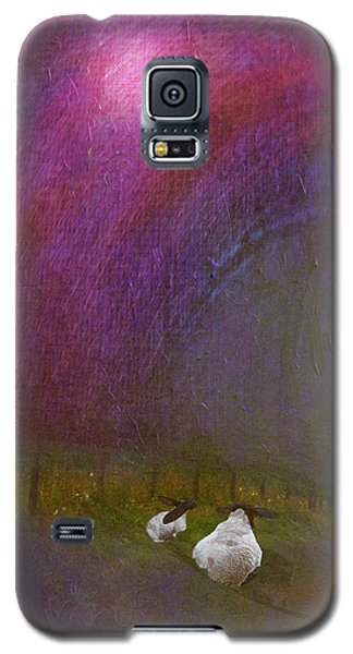 Cloudy Day Sheep Galaxy S5 Case