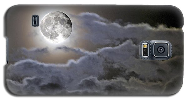 Cloudy Moon Galaxy S5 Case