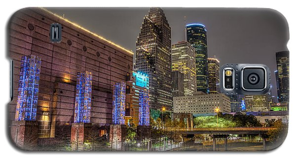 Cloudy Night In Houston Galaxy S5 Case