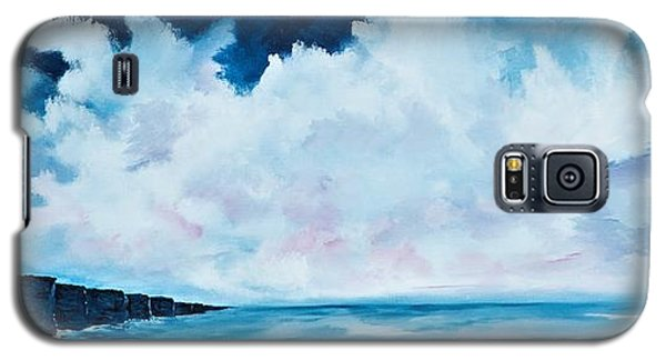 Cloudy Skies Over The Cliffs Of Moher Galaxy S5 Case