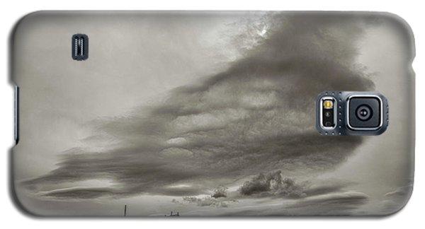 Galaxy S5 Case featuring the photograph Cloudy Sky, Karakorum, 2016 by Hitendra SINKAR