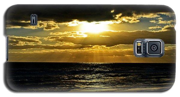 Cloudy Sunrise At Flagler Beach 002 Galaxy S5 Case