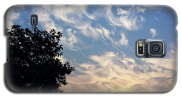 Cloudy Sunrise Galaxy S5 Case