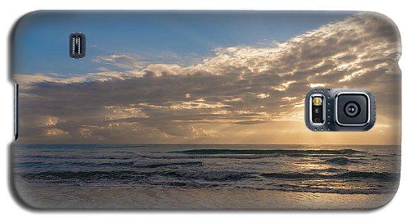 Cloudy Sunrise In The Mediterranean Galaxy S5 Case