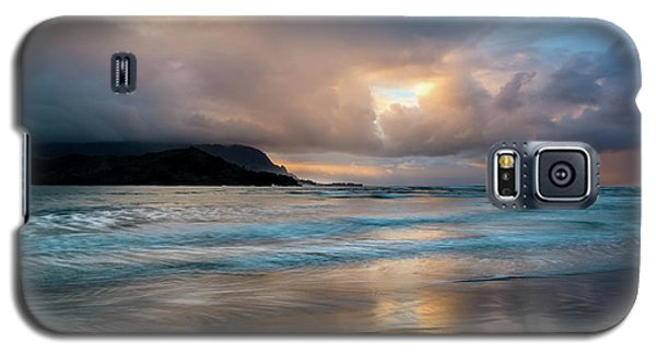 Cloudy Sunset At Hanalei Bay Galaxy S5 Case
