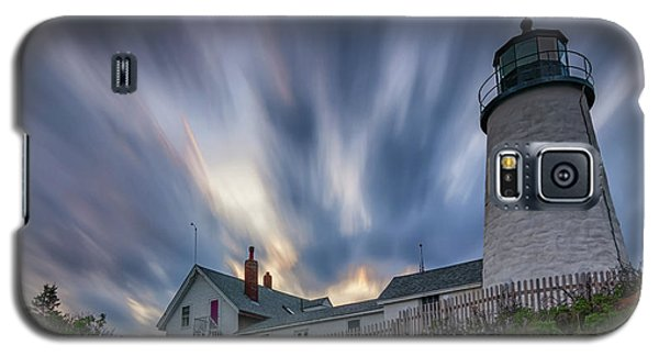 Cloudy Sunset At Pemaquid Point Galaxy S5 Case