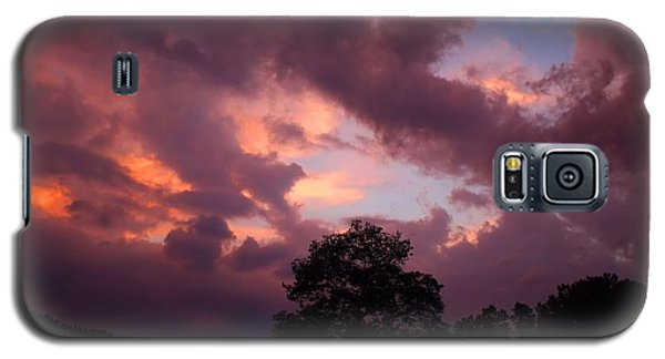 Cloudy Sunset Galaxy S5 Case