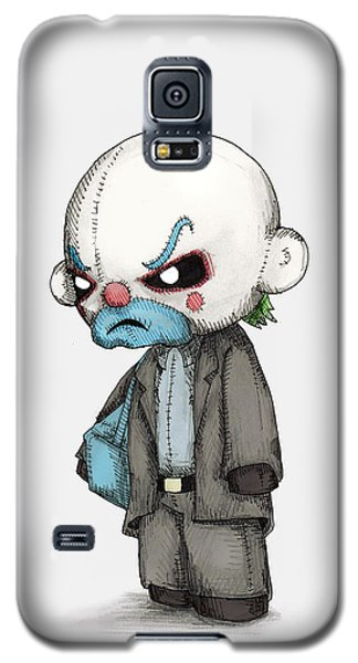 Knight Galaxy S5 Case - Clown Bank Robber Plush by Ludwig Van Bacon