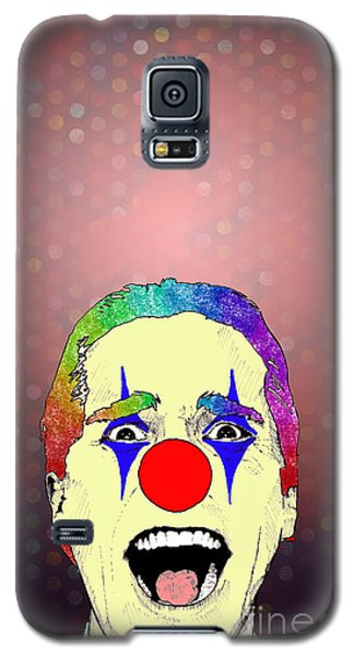 clown Christian Bale Galaxy S5 Case by Jason Tricktop Matthews