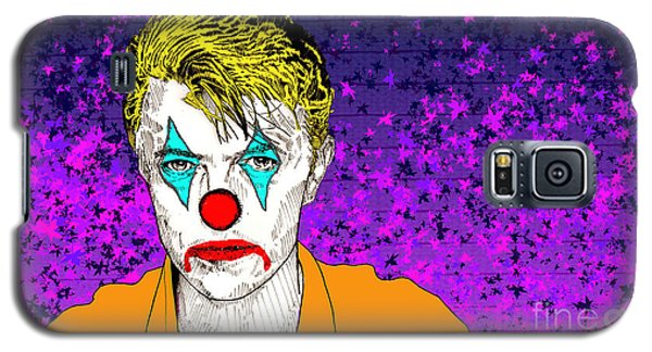 Clown David Bowie Galaxy S5 Case by Jason Tricktop Matthews