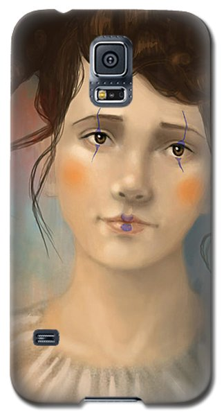 Clown Girl Galaxy S5 Case
