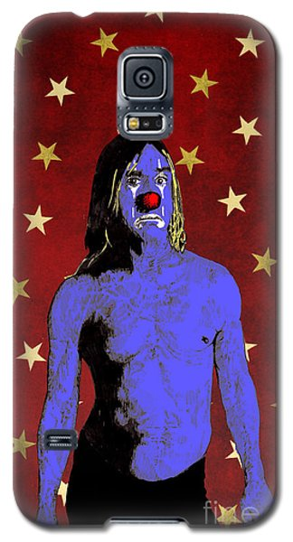 Clown Iggy Pop Galaxy S5 Case by Jason Tricktop Matthews