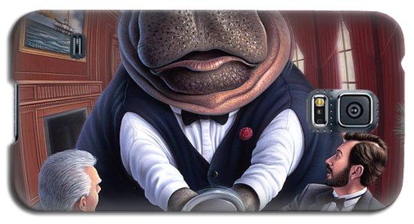 Clumsy Galaxy S5 Case by Jerry LoFaro