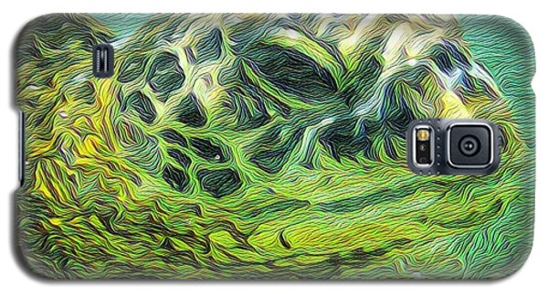 Clyde The Turtle Galaxy S5 Case by Erika Swartzkopf