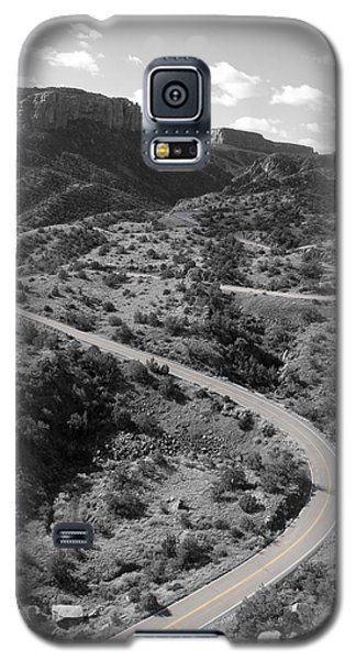 Galaxy S5 Case featuring the photograph Cnm Switchbacks by Dylan Punke