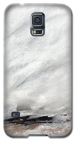 Coast #14 Ocean Landscape Original Fine Art Acrylic On Canvas Galaxy S5 Case