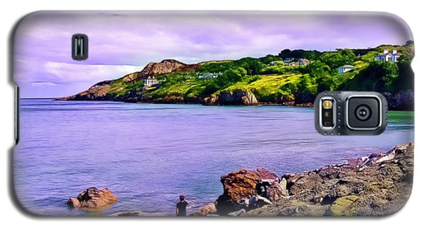 Rocky Coast At Howth Galaxy S5 Case