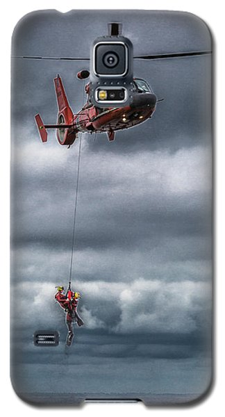 Coast Guard Rescue Operation  Galaxy S5 Case