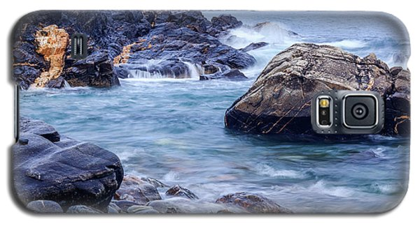 Coast Of Maine In Autumn Galaxy S5 Case