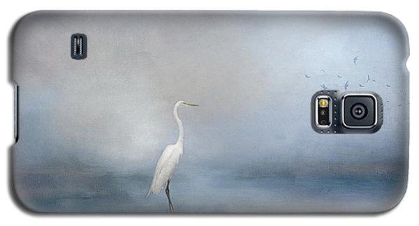 Coastal Egret Galaxy S5 Case