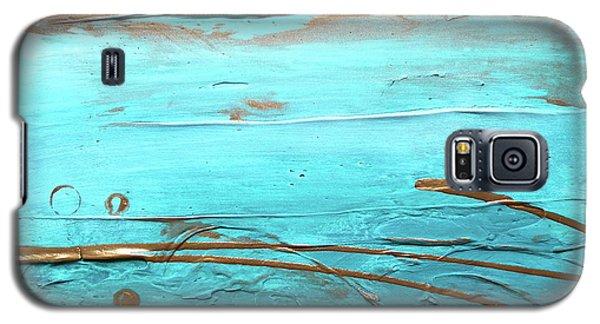 Coastal Escape I Textured Abstract Galaxy S5 Case