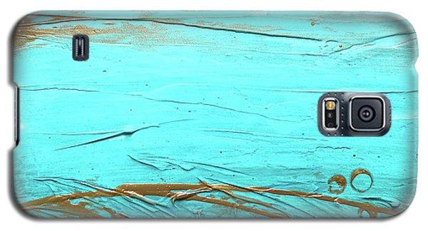 Coastal Escape II Textured Abstract Galaxy S5 Case
