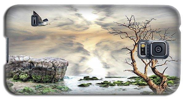 Galaxy S5 Case featuring the photograph Coastal Landscape  by Angel Jesus De la Fuente
