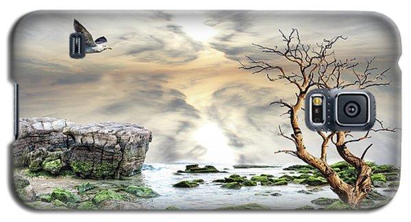 Coastal Landscape  Galaxy S5 Case by Angel Jesus De la Fuente